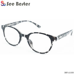 d52cb6d210 Competitive Price Quality Plastic Retro Optical Frame Wholesale Italy  Design Ce Reading Glasses with Metal Decoration