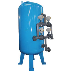 Automatical Industrial Mechanical Water Filter with Epoxy Coated Steel