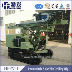 Solar Project Ground Screw Drilling Machine, Hydraulic Crawler Pile Drilling Hfpv-1