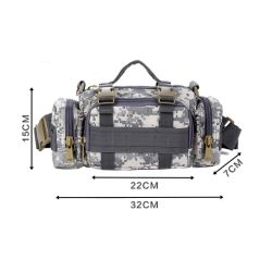 Fanny Pack Sports Cycling Camping Army Molle Military Tactical Waist Bag