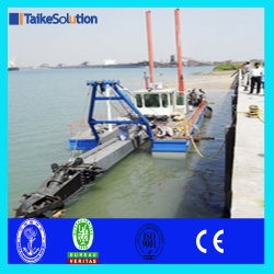 18 Inch Hydraulic Cutter Suction Dredger with Spare Parts for River Sand Mining with Spare Parts
