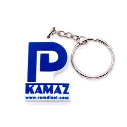 EVA Key Chain Sport Souvenir Gift Craft Supply Design Diamond Flexible Rubber