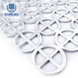 304 316 Stainless Steel Perforated Metal Mesh Sheet / Panel