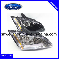 Auto Headlights For Ford Focus 2005 2007 Sedan White Black Light