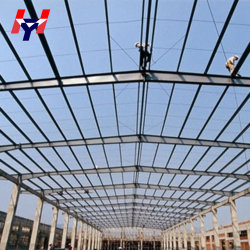 Pre Engineered China Prefab Steel Structure Workshop Building for Sale