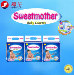 New Breathable Disposable Baby Diaper with Super Absorption