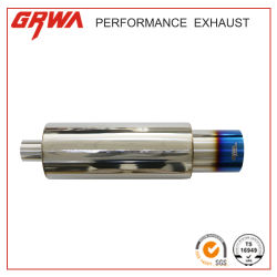 Grwa Stainless Steel Exhaust Car Muffler/Exhaust Muffler