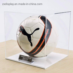 Sports Museum Display Showcase Customized Acrylic Display Box
