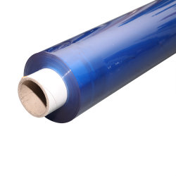 Soft Colored Roll Crystal PVC Film PVC Flexible Film Packed by Real Factory