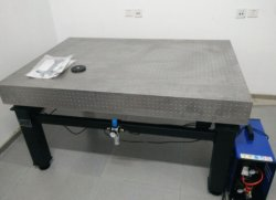Zdt-P Series Honeycomb Stainless Steel Self-Balance Pneumatic Active Vibration Isolation Optical Table