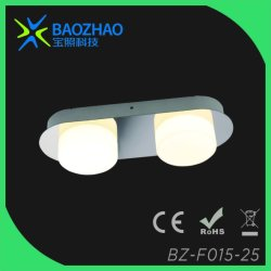 Plating Chrome, Whole Series of SMD LED Bathroom Light, Metal+Glass