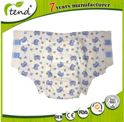 Adult printed diapers