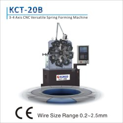 3 Axis 2.5mm CNC Versatile Spring Making Machine& Wire Forming Machine&Spring Former