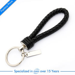 Wholesale Customized Metal Leather Key Tag Car Logo Craft Supply