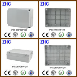 Hot Sale Durable Junction Box with Cable Gland IP65 Electrical Plastic ABS Watertight Box