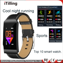 Fashion Fitness IPS Color Screen Sport Bluetooth Waterproof Smart Watch /Bracelet Mobile Phone with Sleep Monitor