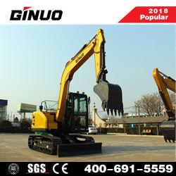 China Factory 6ton Mini RC Excavator with Yanmar Engine