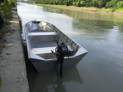Beautiful Aluminium Alloy Fishing Boats (OV1-14)