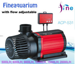 12000lph Aquarium Submersible Water Pump with Flow Adjustable for Ponds
