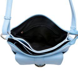 Blue PU Woman Handbag Shoulder Fashion Lady Cross Body Bag (MBNO041097)