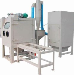 Cleaning / Strengthening Box Type Sand Blasting Machine with SGS
