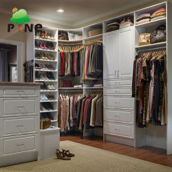 Living Bedroom Embled Fashion Chipboard Plywood Melamine Non Stratching Walk In Wardrobe Closet