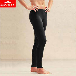 Long Black Color UV Protection Yoga Sport Swimming Pants