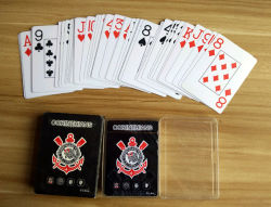 100% Pure New Plastic PVC Playing Cards for Brazil Cam Football Club