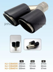 100% Carbon Firble Exhaust Tips