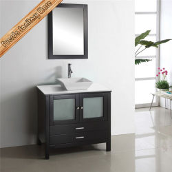 Classic Modern Style Hotel Used Bathroom Furniture in Solid Wood