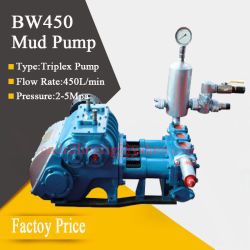 Hydraulic Gear Piston Mud Pump for Water Well Drilling