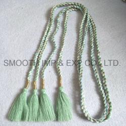 Wholesale Fashion Accessory Decorative Curtain Garment Tassel Belt Textile