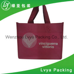 Reusable Ppwoven Laminated Tote Shopping Bag with Fashion Design