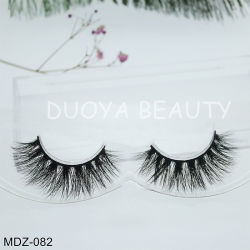 dedd93a214f Natural Faux Mink Lashes Private Label Faux Mink Eyelashes False Eyelashes  with Custom Eyelash Packaging