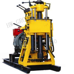 Portable Diesel Shallow Homemade Water Well Drilling Rig Machine