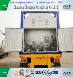 Shengrun ISO 20FT/40FT LNG Tank Container for Railway Transport