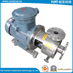 Hot Sale Hygienic Stainless Steel Chocolate Twin Screw Pump for Slurry
