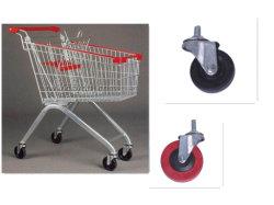 European Style Wholesale Unfolding Metal Shopping Trolley
