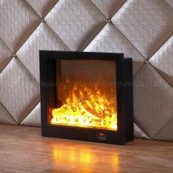 Ce Approved MDF Electric Fireplace Furnace LED 3D Lights (T-302)
