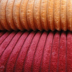 China Factory Supply Sofa Fabric Brushed Corduroy Wide Wale For