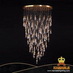 Indoor Home Decorative Hanging Modern Glass Chandelier Ceiling Light (KAC-05R-650)