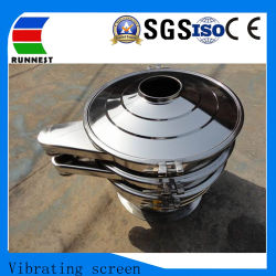High Frequency Round Vibrating Screen usd for Slurry Ceramic