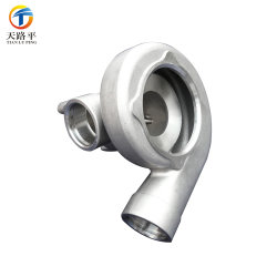 Customized Aluminum Alloy Motorcycle Accessories Turbine Pump Body