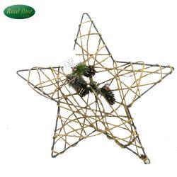 Metal Wall Art Pentagram for Home Decoration
