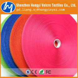 Colorful Sport Nylon Adhesive Hook & Loop Fastener Tape
