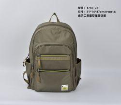 Custom Fashion Portable Light Waterproof Grey Big Capacity Outdoor Men Women Lady Camping Hiking Travel Sports Clumbing School Computer Gift Laptop Backpack Bag
