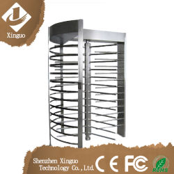 Stainless Steel Dual-Access Full Height Turnstile Price for Massage Center /Bar