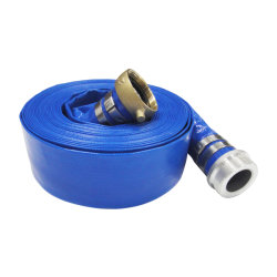 up to 15bar Heavy Duty Agriculture Slurry Sewage Water Discharge Layflat Hose