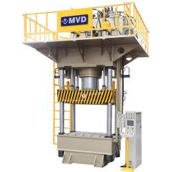 Big CNC Four-Column Hydraulic Press 1250 Ton Equipped Mitsubishi PLC System