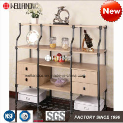 Zhongshan Changsheng Design DIY Steel-Wooden Furniture for Livingroom
